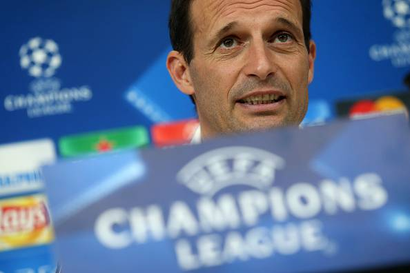 Massimiliano Allegri (Photo credit should read MARCO BERTORELLO/AFP/Getty Images)