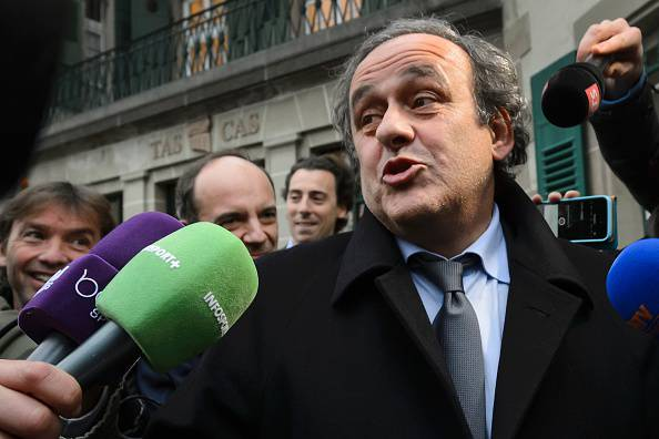 Michel Platini (Photo credit should read FABRICE COFFRINI/AFP/Getty Images)