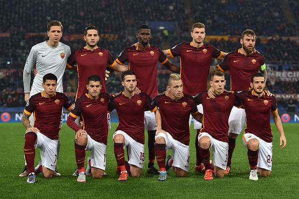 Roma (Photo by Valerio Pennicino - UEFA/UEFA via Getty Images)