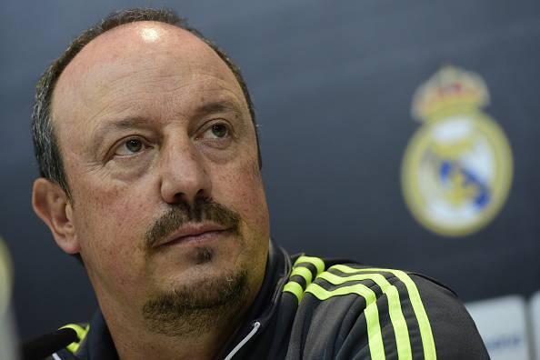 Rafael Benitez (Photo credit should read JAVIER SORIANO/AFP/Getty Images)