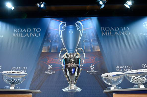 Champions League (Photo credit should read FABRICE COFFRINI/AFP/Getty Images)