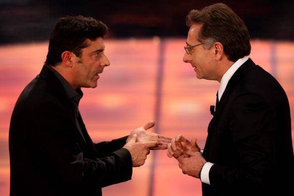 Paolo Bonolis e Luca Laurenti (Photo by Vittorio Zunino Celotto/Getty Images)