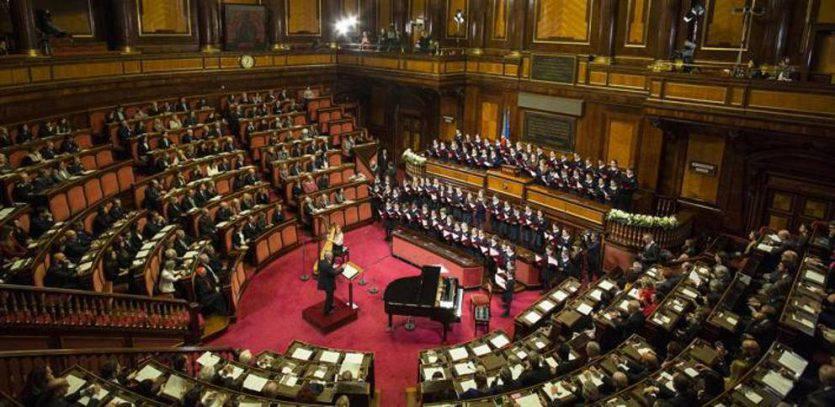 Concerto di Natale al Senato fonte corriere.it