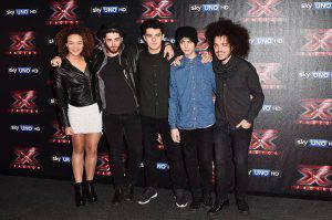 I finalisti di X factor (Getty images)