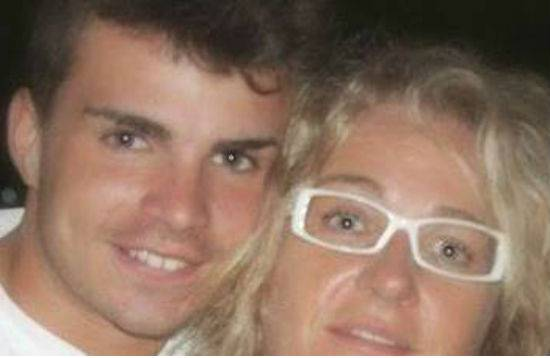 Francesca Marsili e suo figlio Giovanni fonte Facebook