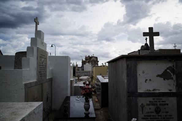Cimitero (ROBERTO SALOMONE/AFP/Getty Images)