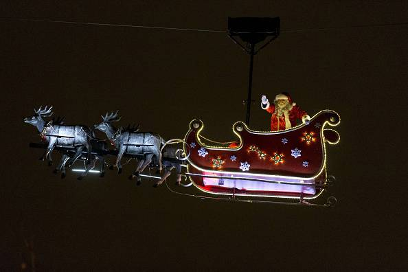 Babbo Natale (KENZO TRIBOUILLARD/AFP/Getty Images)
