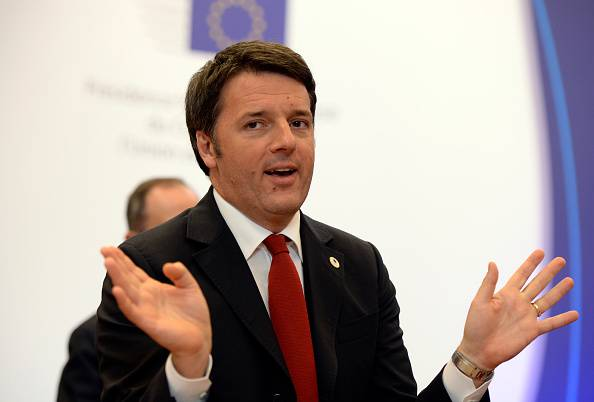 Matteo Renzi (THIERRY CHARLIER/AFP/Getty Images)