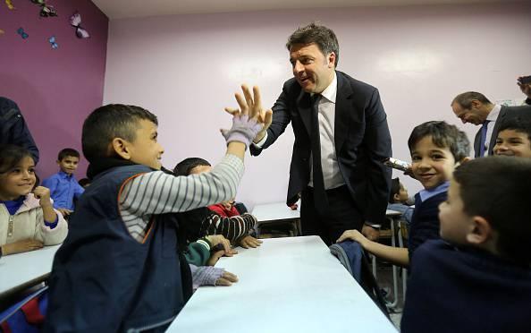 Matteo Renzi (MARWAN TAHTAH/AFP/Getty Images)