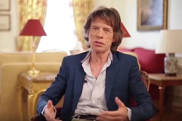 Parodia Mick Jagger di Fabio Celenza