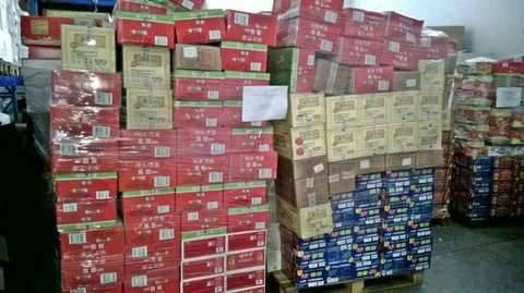 Prodotti alimentari sequestrati fonte Nas