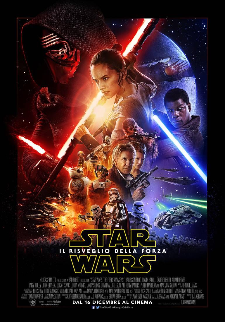 STAR WARS IL RISVEGLIO DELLA FORZA_POSTER UFFICIALE