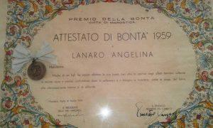 Zanin Angelina 100 anni