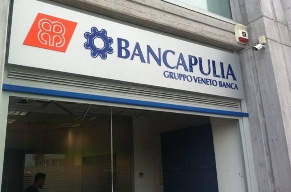 Una filiale di Banca Apulia (foto dal web)