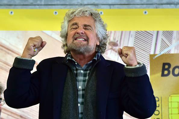 Beppe Grillo (GIUSEPPE CACACE/AFP/Getty Images)