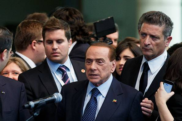 Silvio Berlusconi (Pablo Blazquez Dominguez/Getty Images)