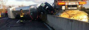 Incidente stradale a Fasano