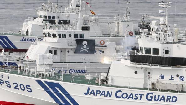 La 'morte' naviga nel Mar del Giappone VIDEO
