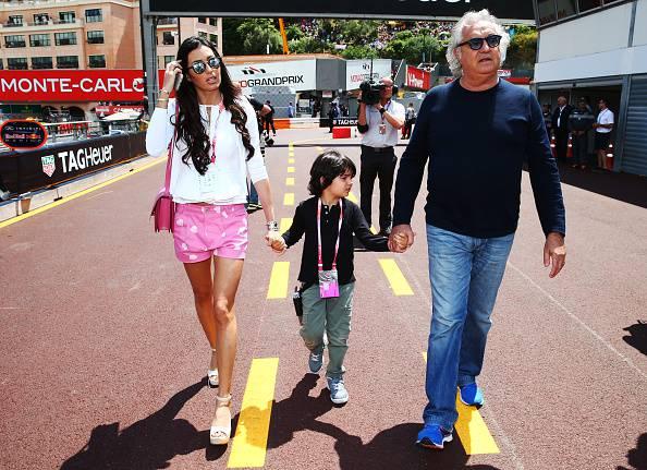 La famiglia Briatore (Mark Thompson/Getty Images)