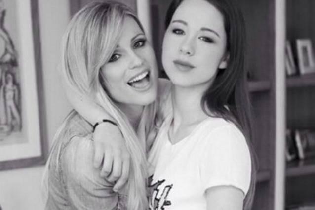 Michelle e Aurora fonte Instagram