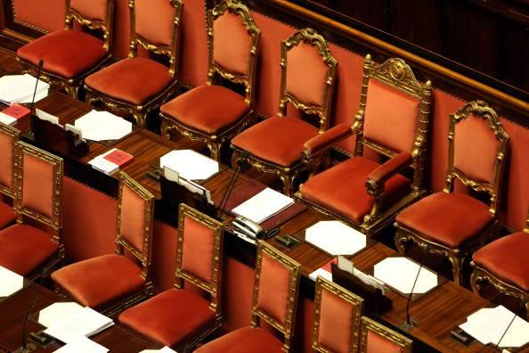 Scranni vuoti in Parlamento (Franco Origlia/Getty Images)