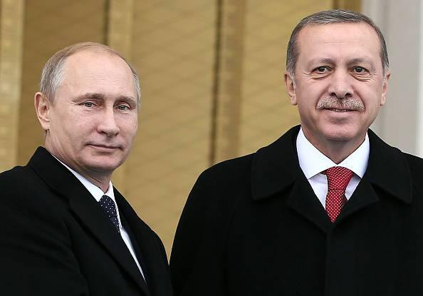 Putin ed Erdogan (ADEM ALTAN/AFP/Getty Images)