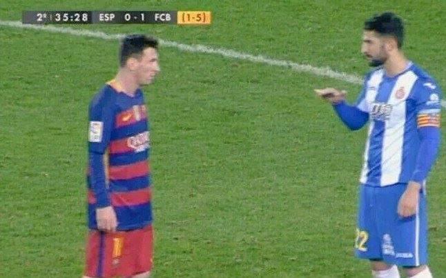 Espanyol-Barcellona, l'avversario provoca Messi. E lui sentite cosa gli risponde… VIDEO