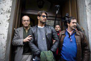 Fabrizio Corona (Photo credit should read PATRICIA DE MELO MOREIRA/AFP/Getty Images)
