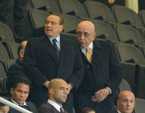 Berlusconi-Galliani (Photo by Pier Marco Tacca/Getty Images)
