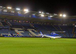 King Power Stadium  (Photo credit should read PAUL ELLIS/AFP/Getty Images)