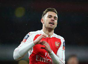 Aaron Ramsey (Photo by Paul Gilham/Getty Images)