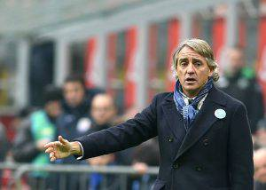 Roberto Mancini (Photo credit should read ALBERTO PIZZOLI/AFP/Getty Images)