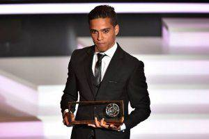 Wendell Lira (Photo credit should read FABRICE COFFRINI/AFP/Getty Images)