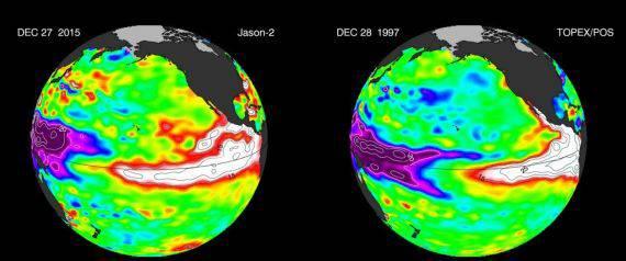 """El Niño minaccia il mondo """" Effetti catastrofici"""""""