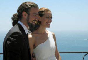 Mario Biondo  e la moglie Raquel (foto dal web)