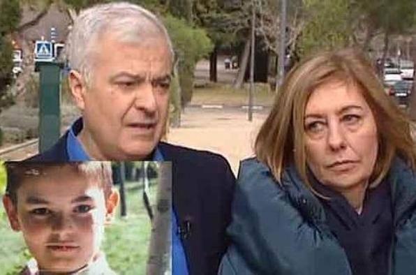 I genitori del piccolo Diego (foto dal web)