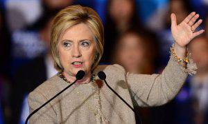 Hillary Clinton (FREDERIC J. BROWN/AFP/Getty Images)