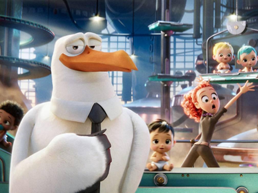 """""""Cicogne in missione"""": un nuovo film di animazione in 3D"""