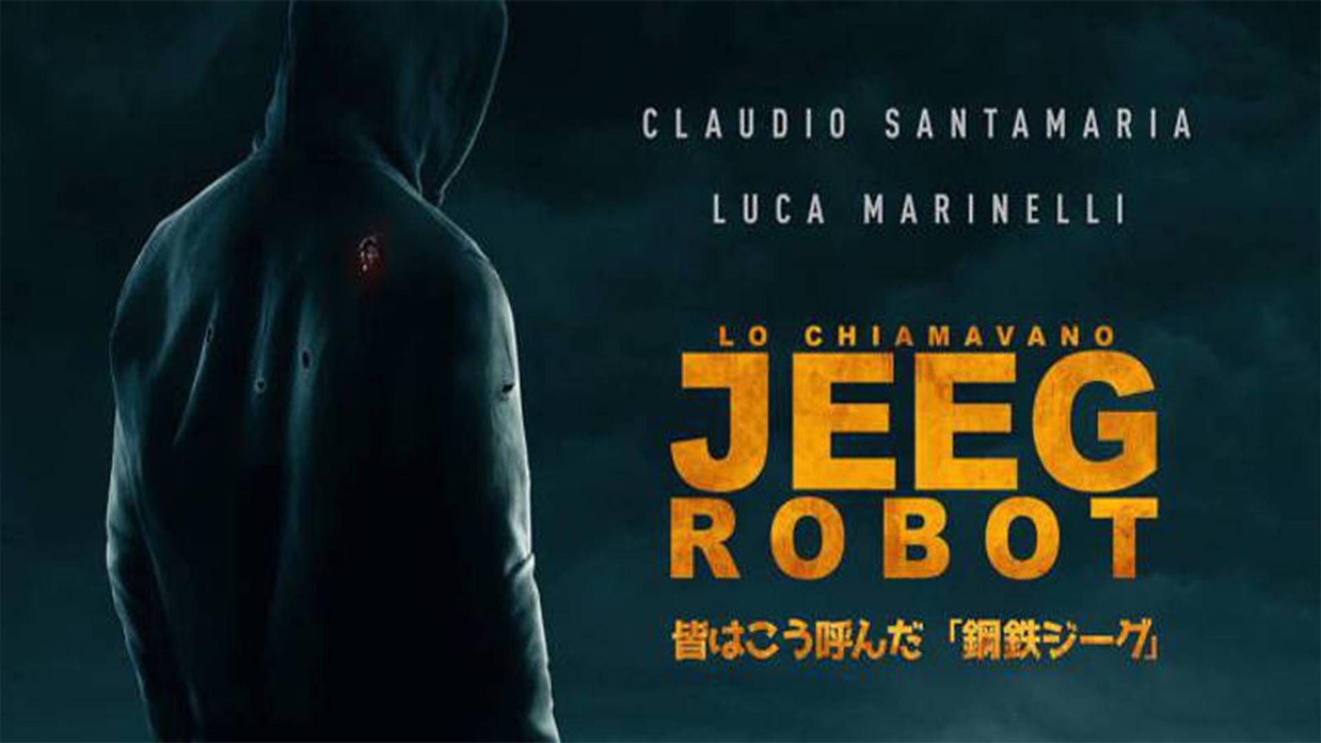 Quot lo chiamavano jeeg robot claudio santamaria è il nuovo