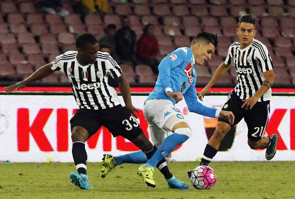 Napoli-Juventus (Photo credit should read CARLO HERMANN/AFP/Getty Images)