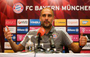 Pep Guardiola (Photo credit should read STRINGER/AFP/Getty Images)