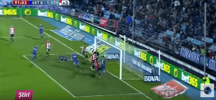 Getafe-Athletic Bilbao, deve solo far gol a porta vuota, ma invece… VIDEO
