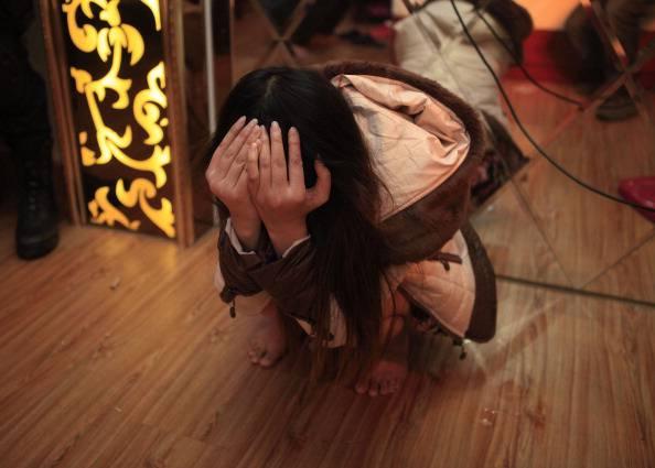 Crimini sessuali (STR/AFP/Getty Images)