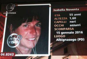 Isabella Noventa (ritaglio video)