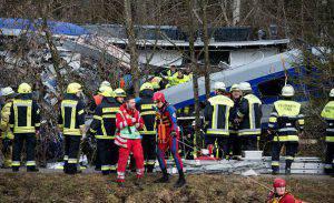 Scontro tra treni (SVEN HOPPE/AFP/Getty Images)