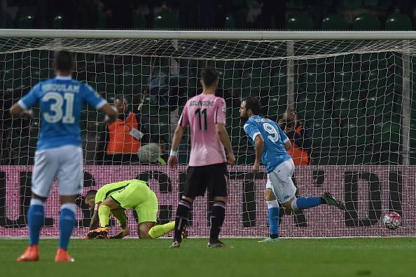 Palermo – Napoli, Lazio – Atalanta e i risultati della 29a di Serie A