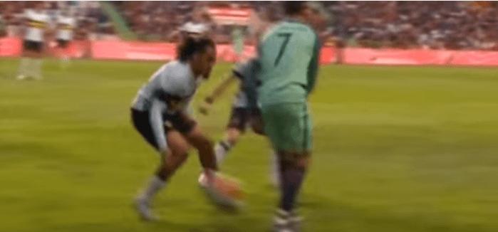 Portogallo-Belgio, numero straordinario di Cristiano Ronaldo VIDEO