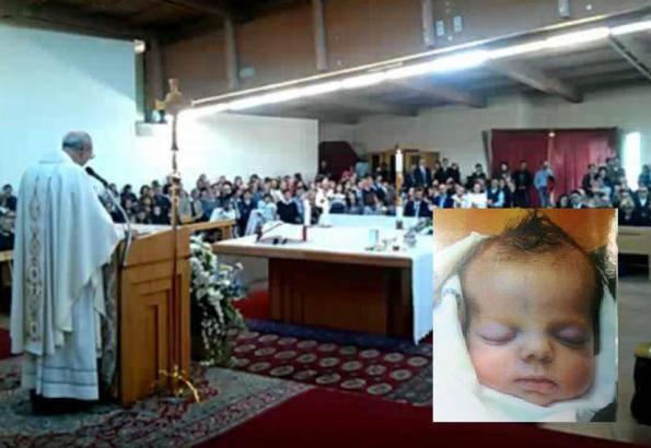 I funerali di Agnese Poletta (Youtube)
