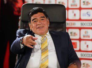 Diego Armando Maradona (Photo by Salah Malkawi/Getty Images for Soccerex)