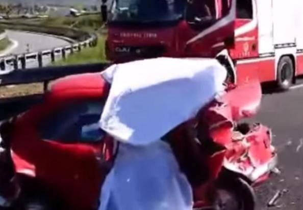 Incidente sull'asse attrezzato, chiuso il raccordo Chieti-Pescara